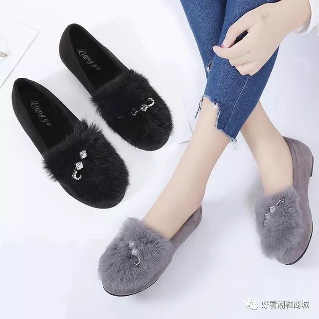 平底百搭韩版女鞋