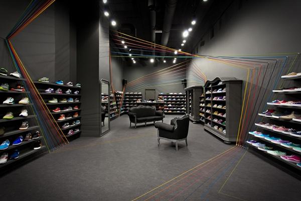 鞋店装修图
